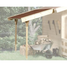 Weka Schleppdach für 19 und 21 mm Blockbohlenhäuser