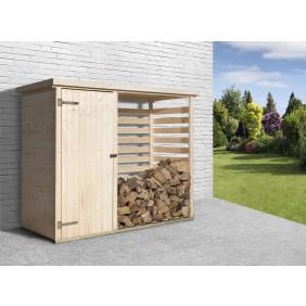 Weka Brennholzlager / Unterstellplatz kesseldruckimprägniert 19 mm