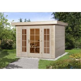 Weka Gartenhaus Domus 19 mm