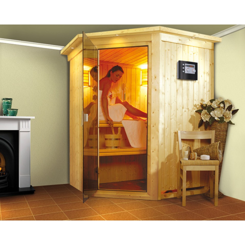 karibu sauna nanja 68 mm systemsauna 230 volt plug play sparset mein mein. Black Bedroom Furniture Sets. Home Design Ideas