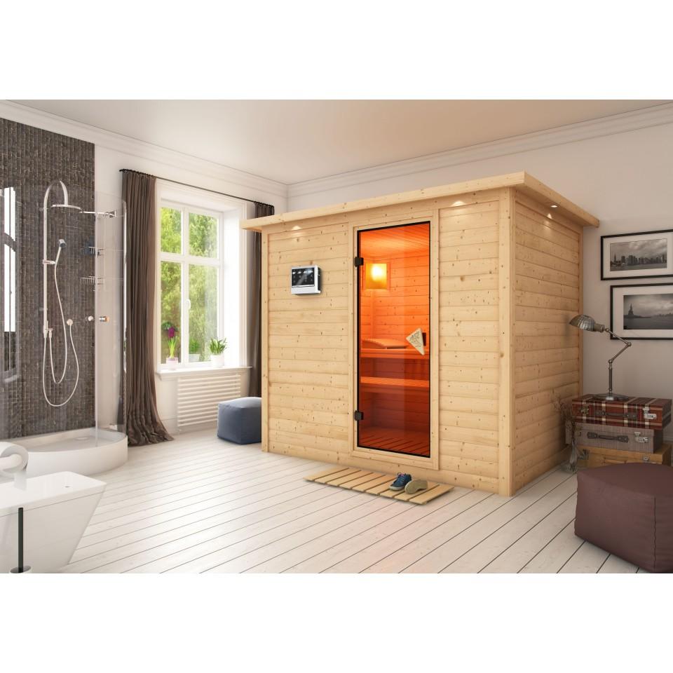 karibu massivholzsauna sonara karibu. Black Bedroom Furniture Sets. Home Design Ideas