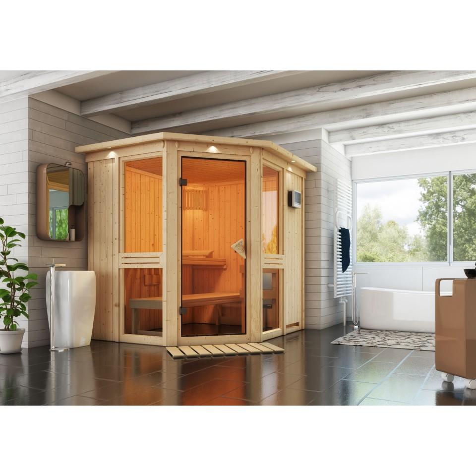karibu sauna amelia 1 sparset karibu. Black Bedroom Furniture Sets. Home Design Ideas