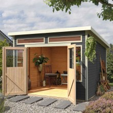 Karibu Eco Gartenhaus Gerätehaus Tinkenau 6/8 - 19 mm