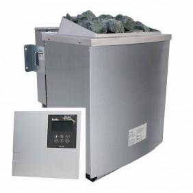 Karibu 9 kW Bio-Kombiofen Saunaofen inkl. Steuergerät - Sparset