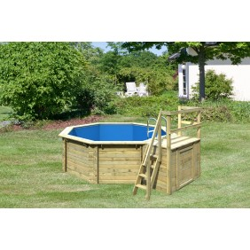 Karibu Pool Modell 1 A Sparset Komfort - kesseldruckimprägniert