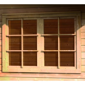 Karibu Dreh-/ Kipp Friesenfenster für 40 mm Häuser