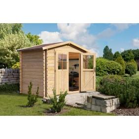 Karibu Woodfeeling Gartenhaus Mittelwandhaus Kardur - 28 mm