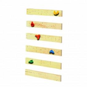 Karibu Kletterwand für Kinderspielturm Fidibus