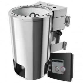 Karibu Plug & Play - Bio-Kombiofen 3,6 kW mit externer Steuerung Modell 2015
