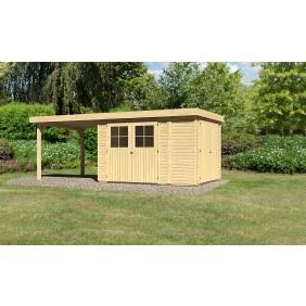 Karibu Woodfeeling Gartenhaus Linau 2 - 28 mm