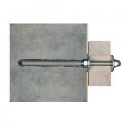 Skan Holz Wandbefestigungsset für Vordächer Größe 3 und Vogtland/Eifel