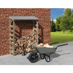 Weka Brennholzlager 663 A kesseldruckimprägniert 19 mm