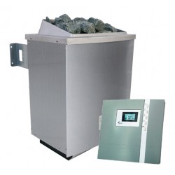Karibu 9 kW Saunaofen inkl. Steuergerät Premium - Sparset