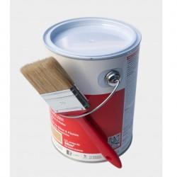 Skan Holz Aqua Endanstrich deckend 2,5 Liter inkl. 1 Flachpinsel 70 mm