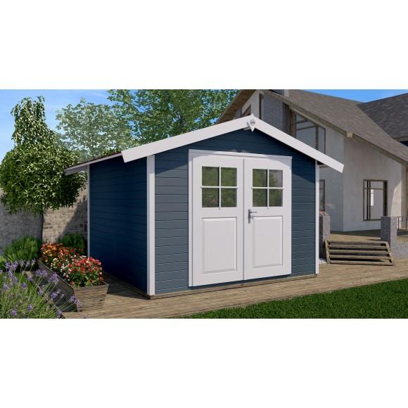 traufblech montieren gartenhaus cheap flachdach montieren m lang for traufblech obi with. Black Bedroom Furniture Sets. Home Design Ideas