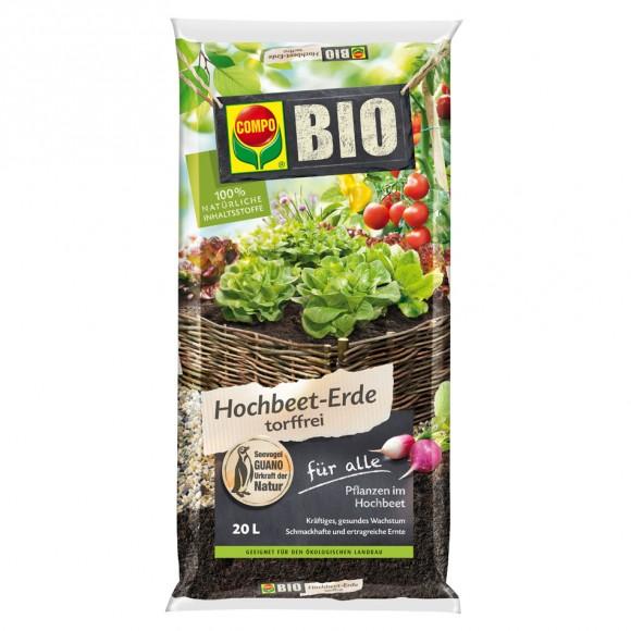 Compo Bio Hochbeet Erde Mein Gartenshop24 De