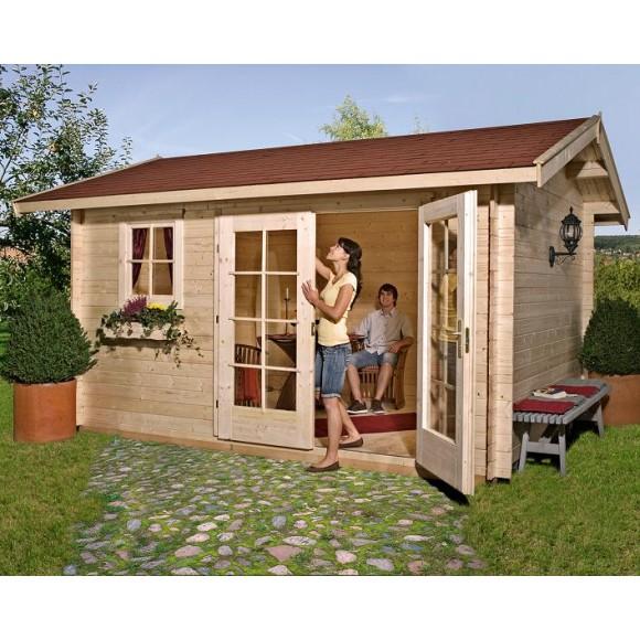 Weka 28 Mm Gartenhaus 163 Mein Gartenshop24 De