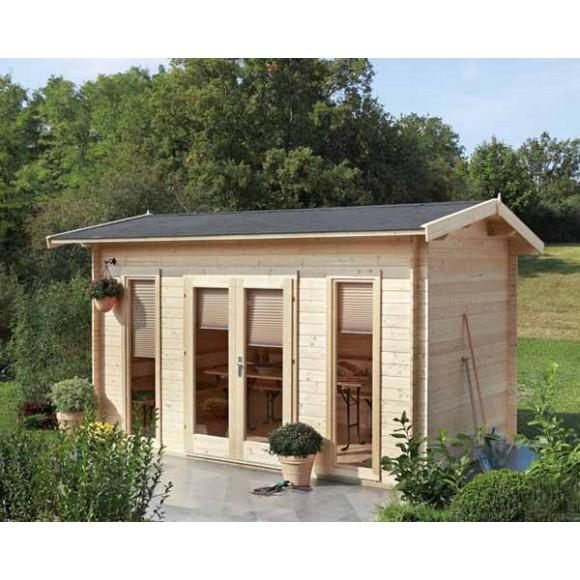 Gartenhaus 24 Qm Selber Bauen Gartenhaus Hersteller 24 De: Blockbohlen Gartenhuser. Perfect Blockbohlen Gartenhaus