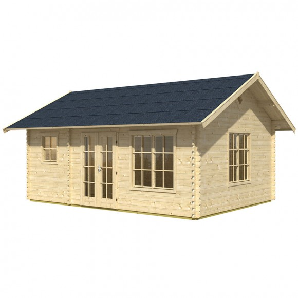 skan holz 45 mm gartenhaus esbjerg freizeithaus 1 2 skanholz. Black Bedroom Furniture Sets. Home Design Ideas
