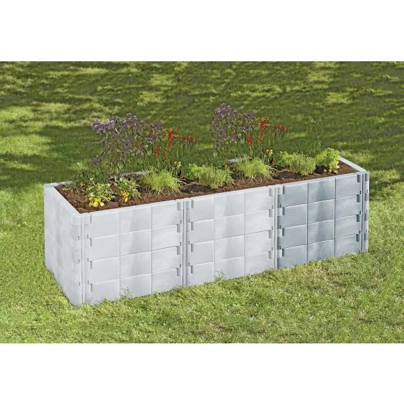 Juwel Hochbeet Profiline Erweiterungs Set Basalt Mein Gartenshop24 De
