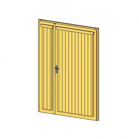 Doppeltür Holz skan holz doppeltür für carports mein gartenshop24 de