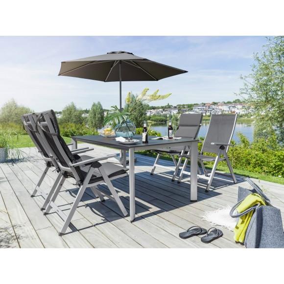 Restposten Gartenmobel Edelstahl , Kettler Easy Dining Gartenmöbel Set Inkl 4 Stühle 2 Hocker 1