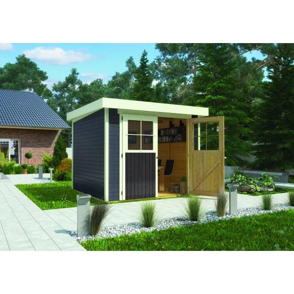 Karibu Eco Gartenhaus Gerätehaus Lichtenau/Limburg 2/3/5 - 19 mm ...