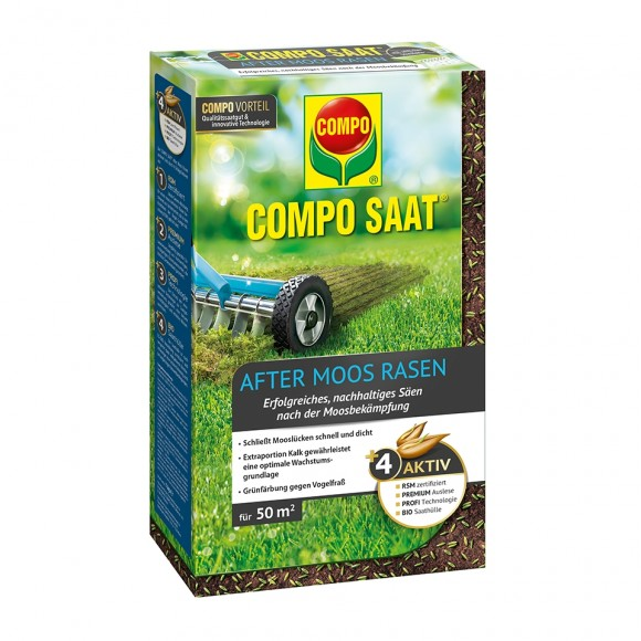 COMPO SAAT After Moos Rasen 1 kg für 50 m²