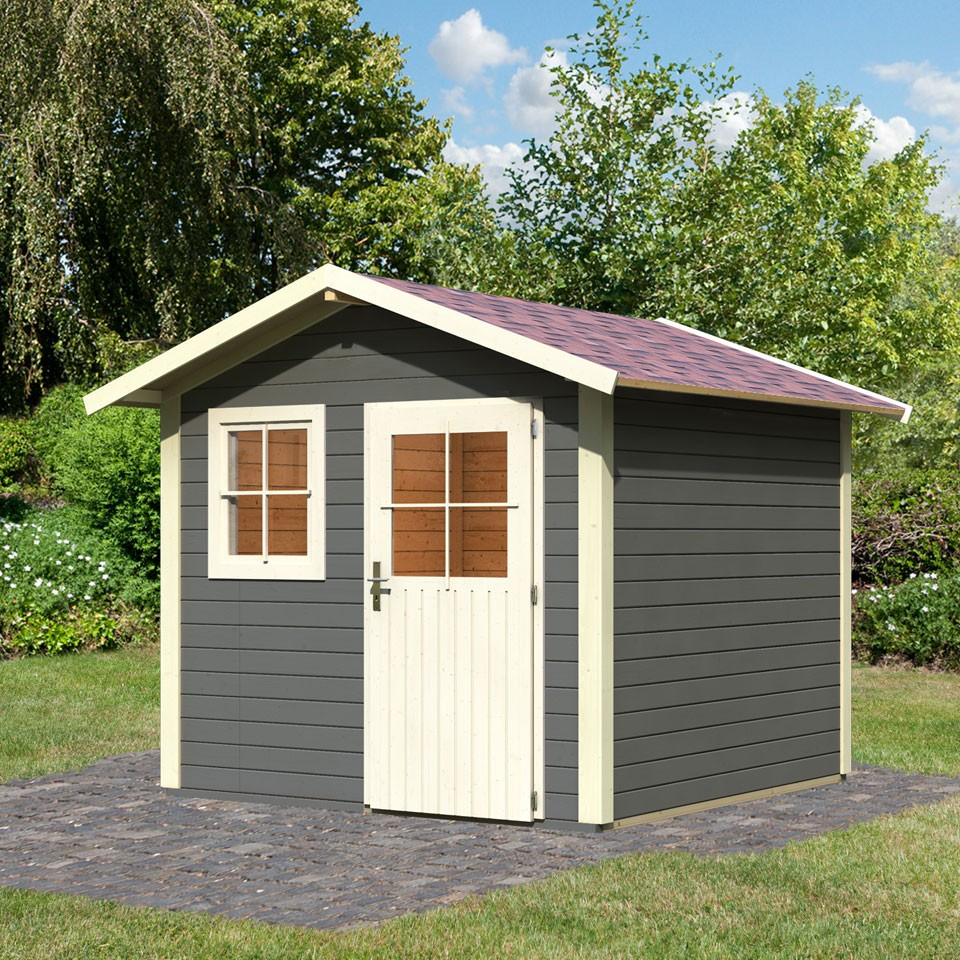 karibu woodfeeling gartenhaus linau 5 28 mm 28 mm. Black Bedroom Furniture Sets. Home Design Ideas