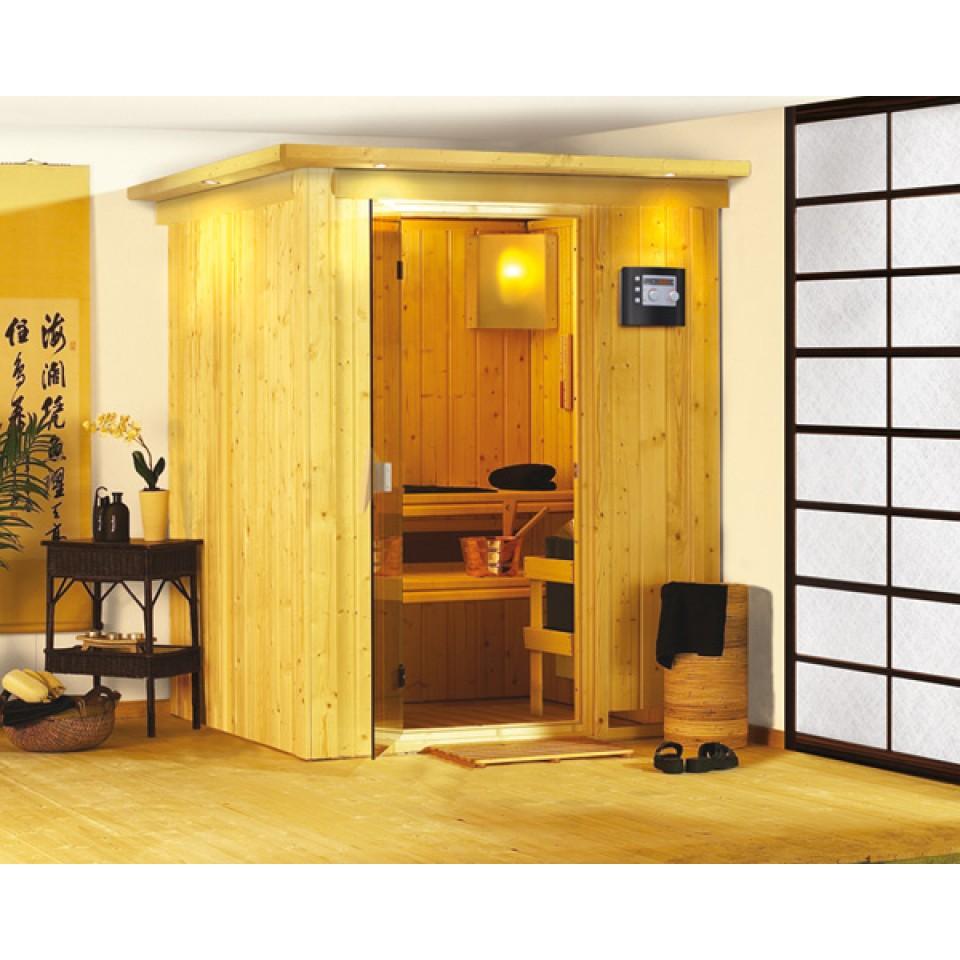 karibu sauna minja 68 mm systemsauna 230 volt plug. Black Bedroom Furniture Sets. Home Design Ideas