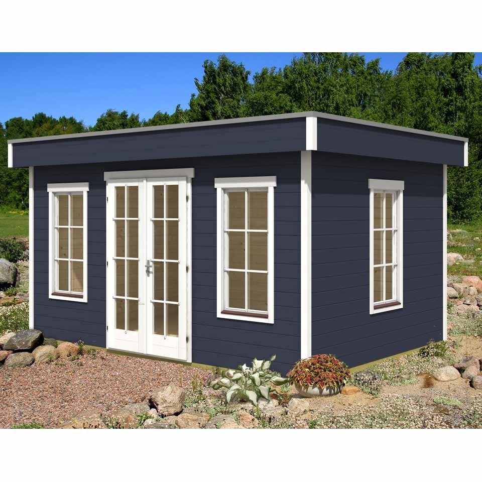 skan holz 45 mm gartenhaus basel mein. Black Bedroom Furniture Sets. Home Design Ideas