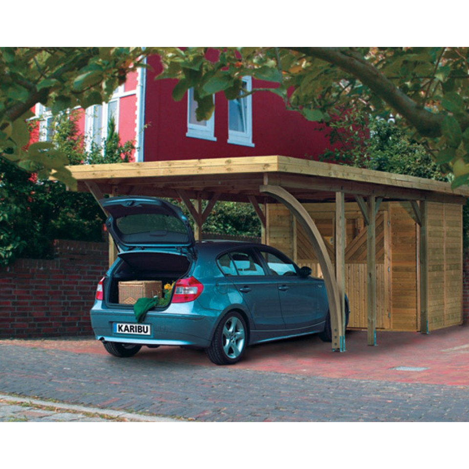 karibu carport einzelcarport einzel 1 karibu. Black Bedroom Furniture Sets. Home Design Ideas