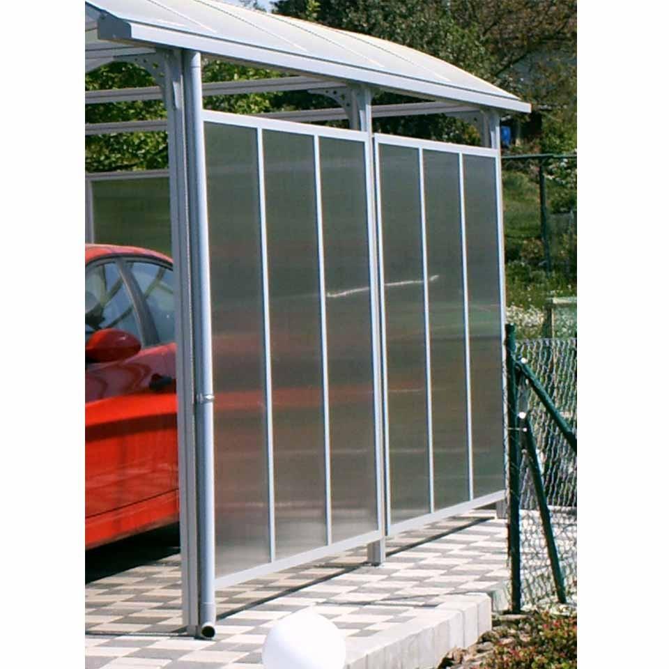 kgt seitenelement typ i f r aluminium carport mein. Black Bedroom Furniture Sets. Home Design Ideas