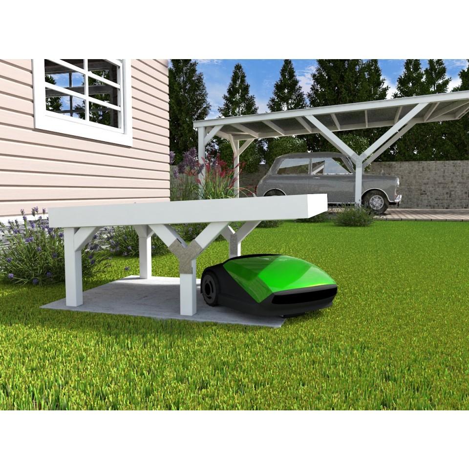 weka y m hrobotergarage 367 mit flachdach 21 mm mein. Black Bedroom Furniture Sets. Home Design Ideas