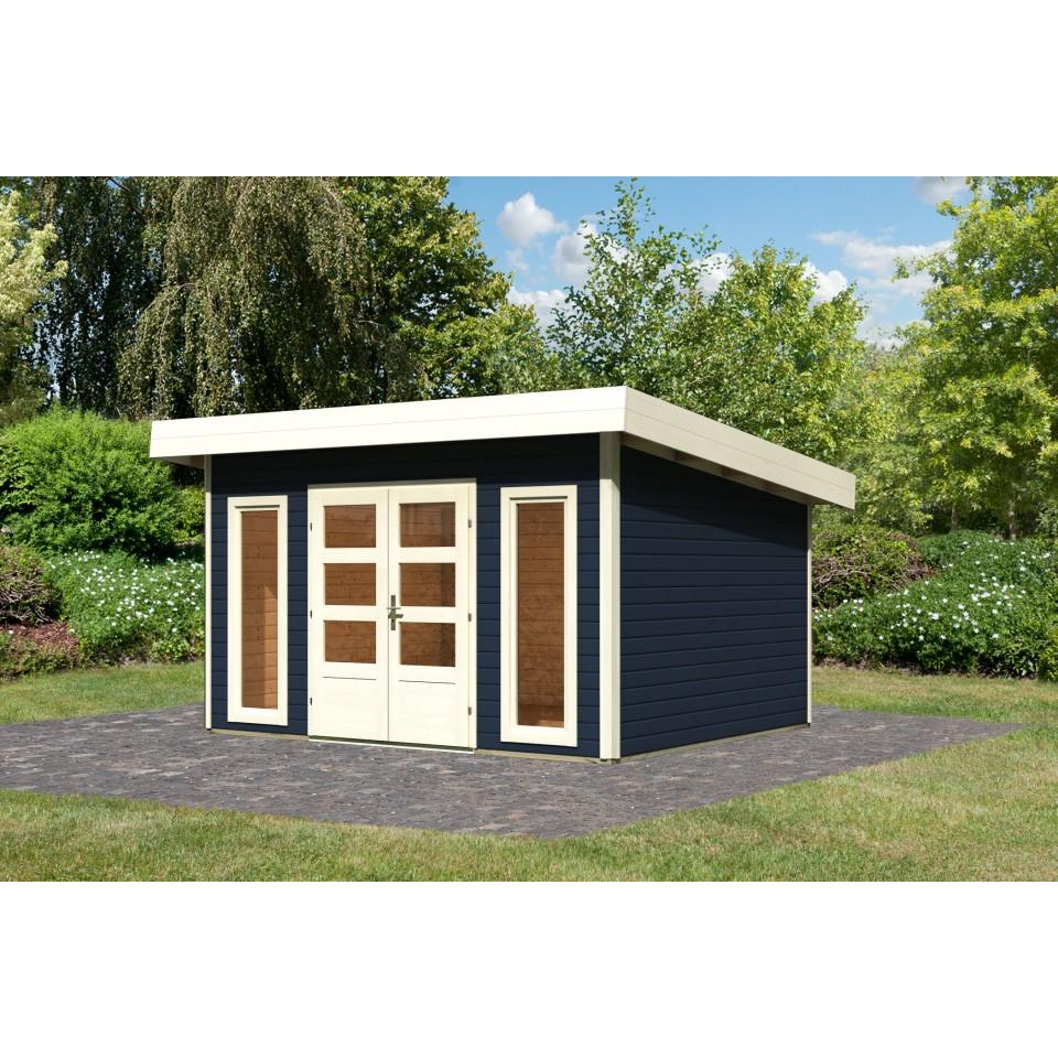 karibu woodfeeling gartenhaus northeim 4 40 mm mein. Black Bedroom Furniture Sets. Home Design Ideas