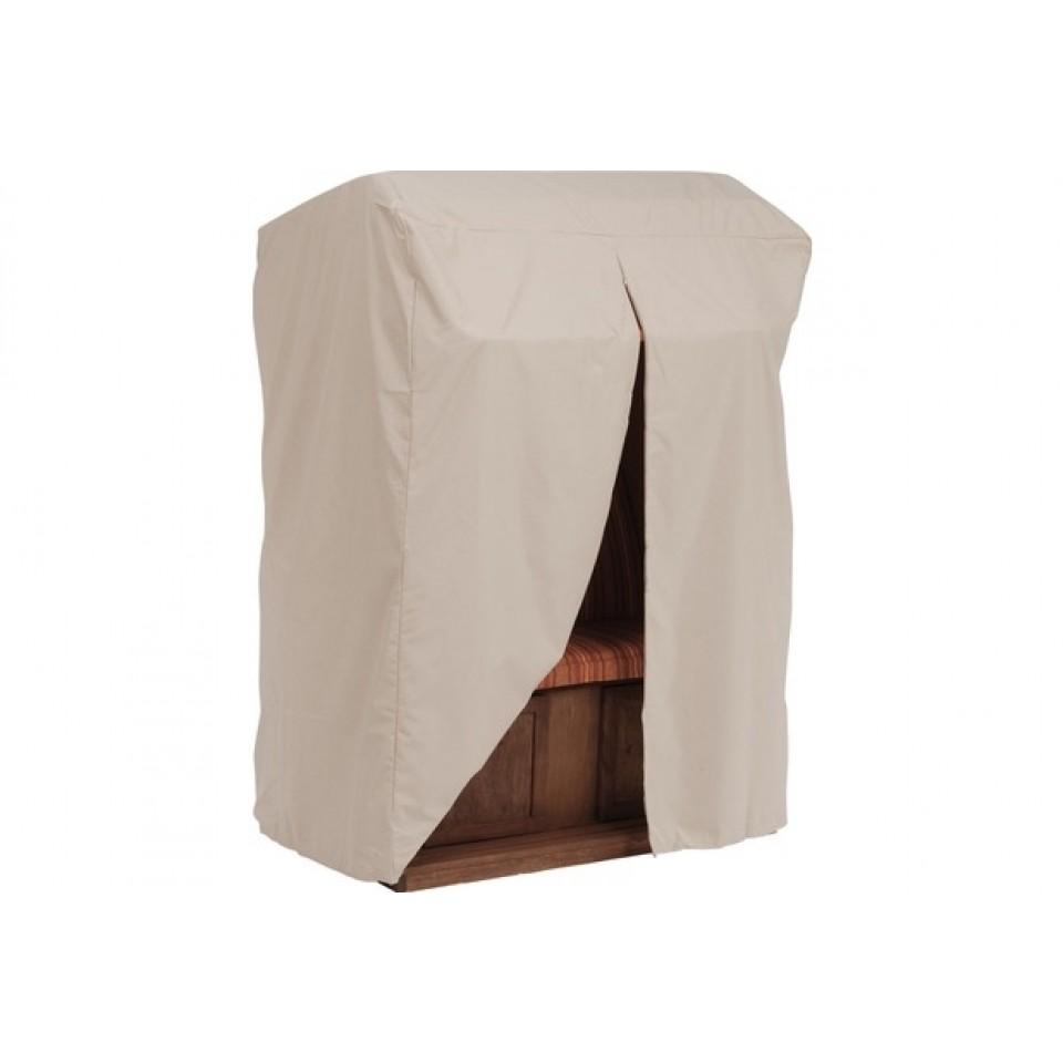 stern schutzh lle f r strandkorb dessin natur 210 x 140 x. Black Bedroom Furniture Sets. Home Design Ideas