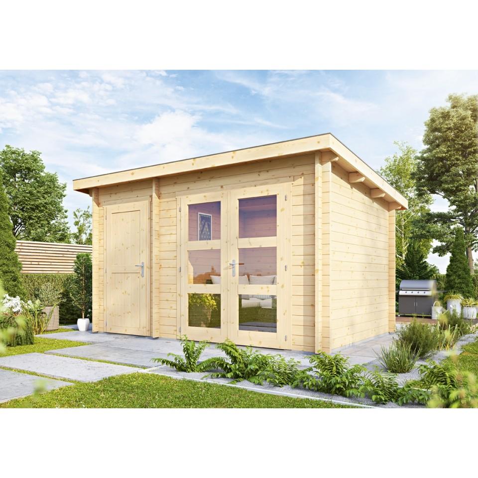 wolff finnhaus gartenhaus toulouse aktionsmodell mein. Black Bedroom Furniture Sets. Home Design Ideas
