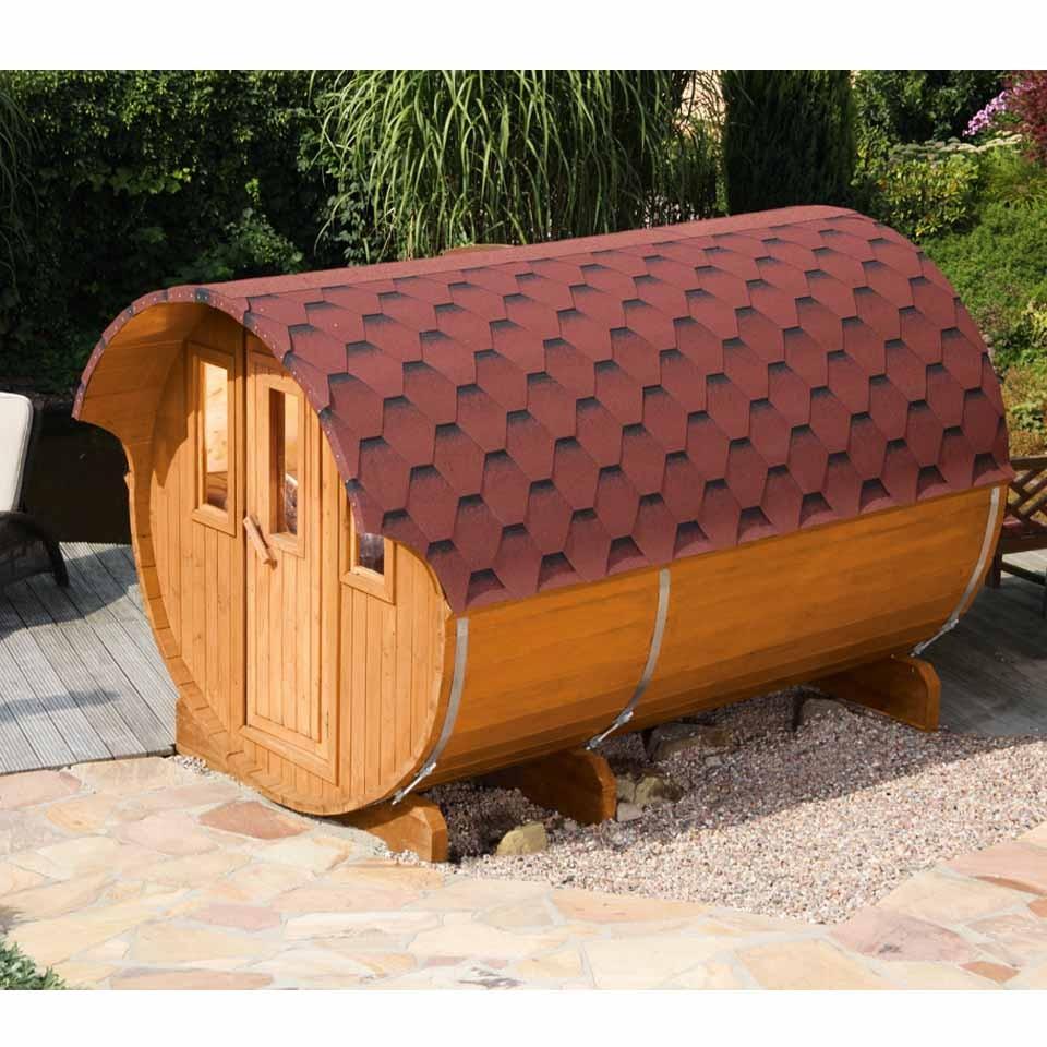 wolff finnhaus saunafass fasssauna 330 2 raum mein. Black Bedroom Furniture Sets. Home Design Ideas