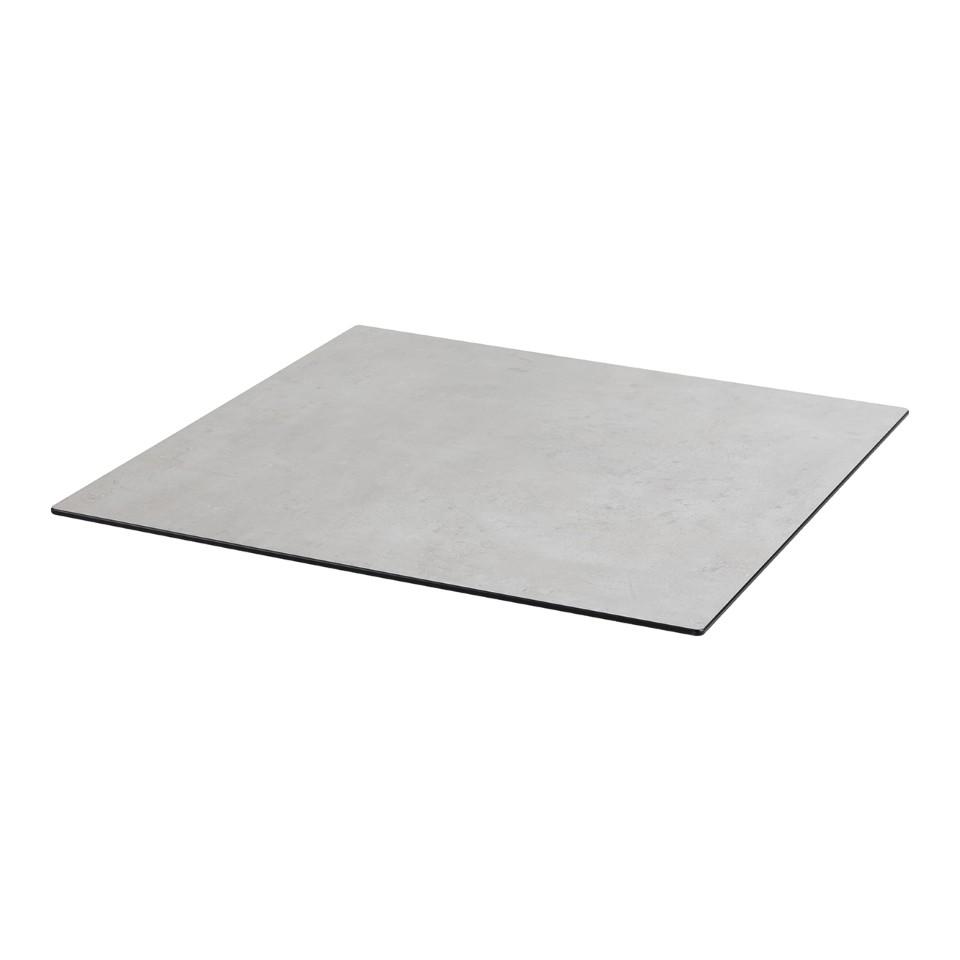 diamond garden diga compact tischplatte 68cm eckig mit 20 fase beton mein. Black Bedroom Furniture Sets. Home Design Ideas