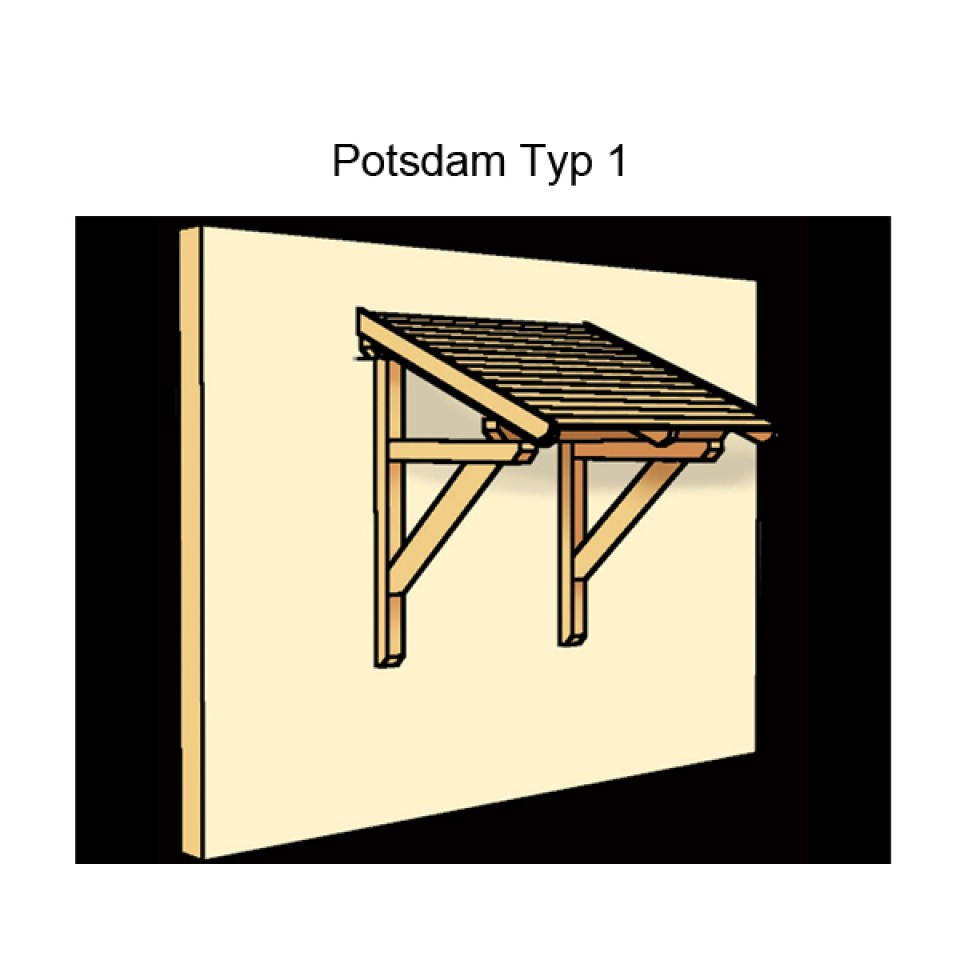 skanholz pultdach vordach potsdam skanholz. Black Bedroom Furniture Sets. Home Design Ideas