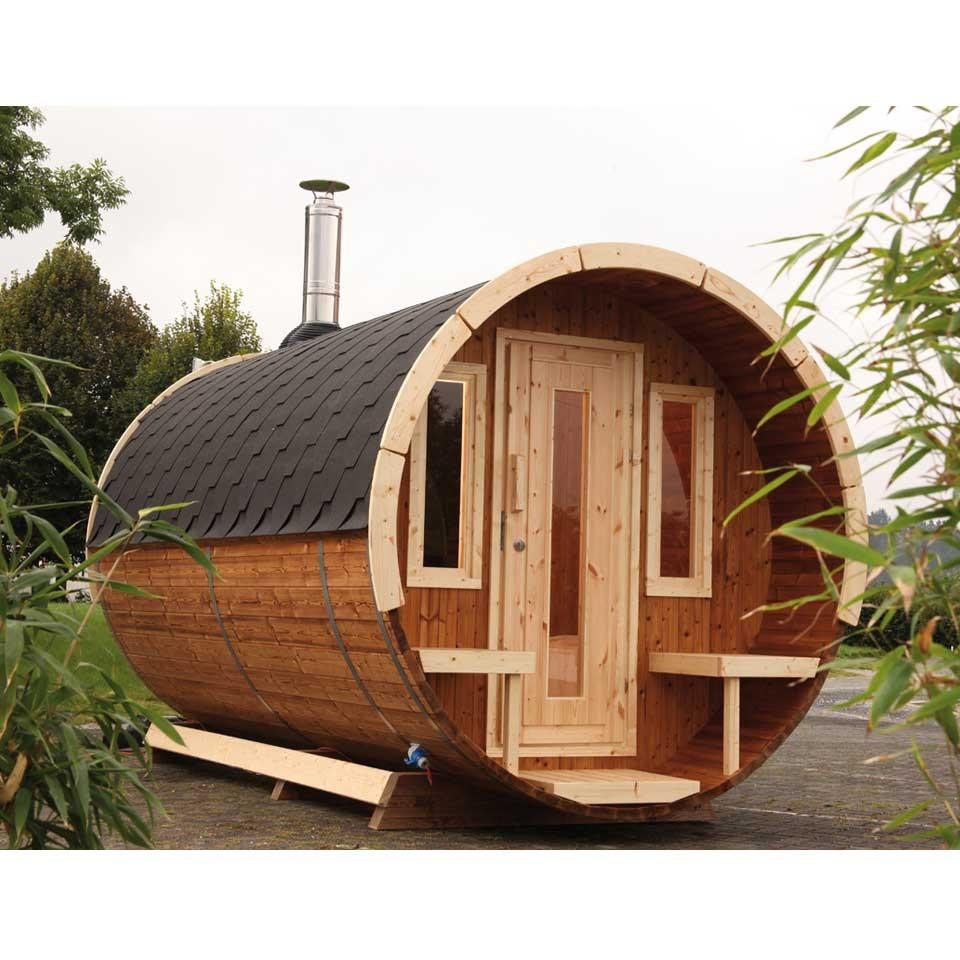 wolff finnhaus saunafass fasssauna 280 mein. Black Bedroom Furniture Sets. Home Design Ideas