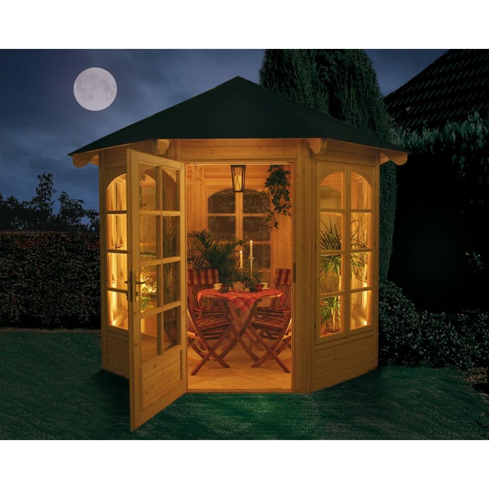 weka pavillon 234 a b sparset inkl schindeln mein. Black Bedroom Furniture Sets. Home Design Ideas