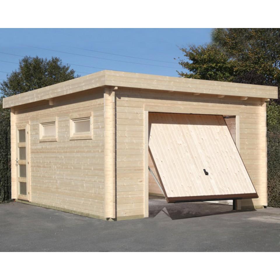Wolff finnhaus garage 44 moderna mit h rmann schwingtor for Garage versailles 44