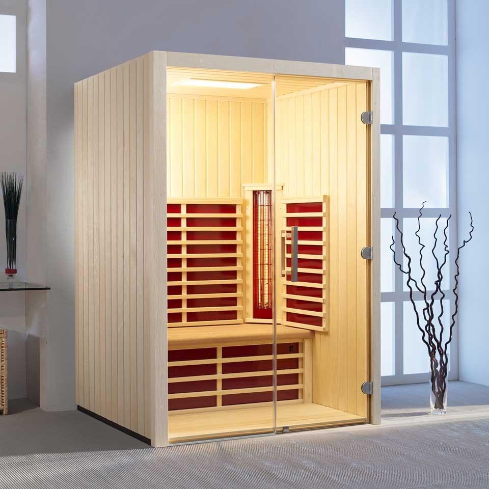 infraworld infrarotkabine fusion glas 145 espe mein. Black Bedroom Furniture Sets. Home Design Ideas