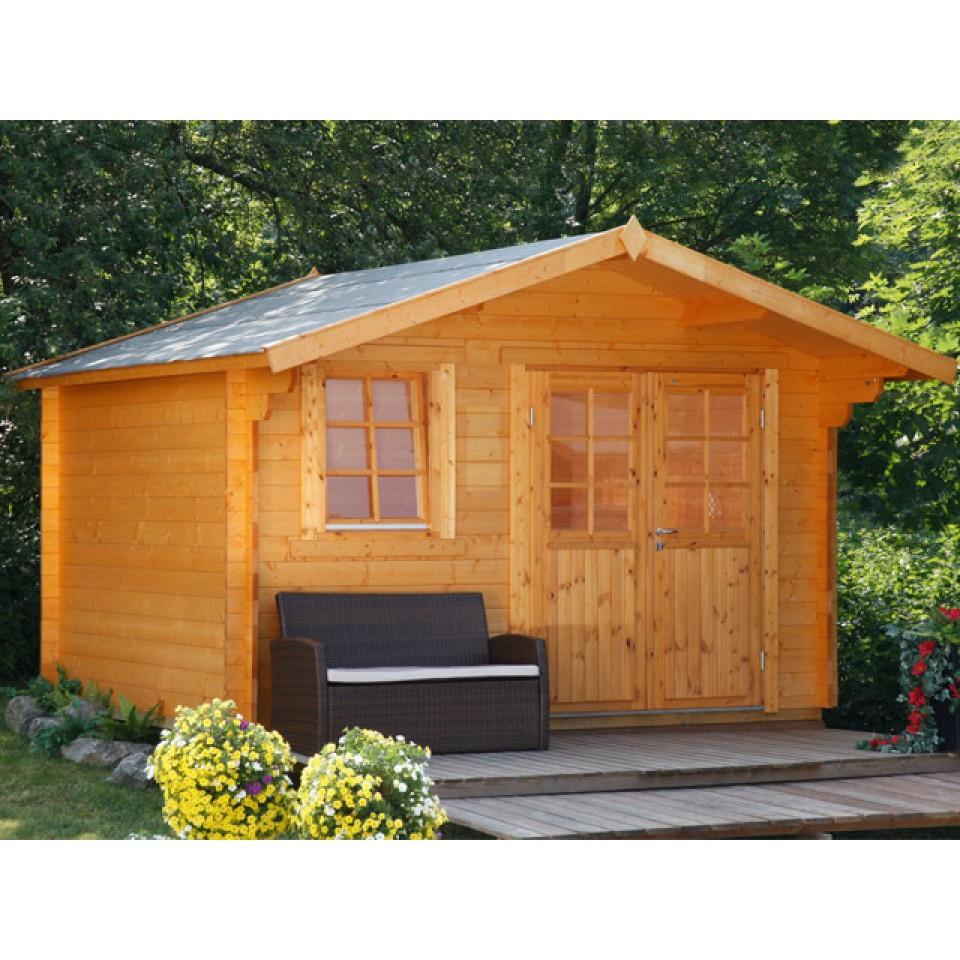 wolff finnhaus gartenhaus oslo 34 f g klassik xl mein. Black Bedroom Furniture Sets. Home Design Ideas