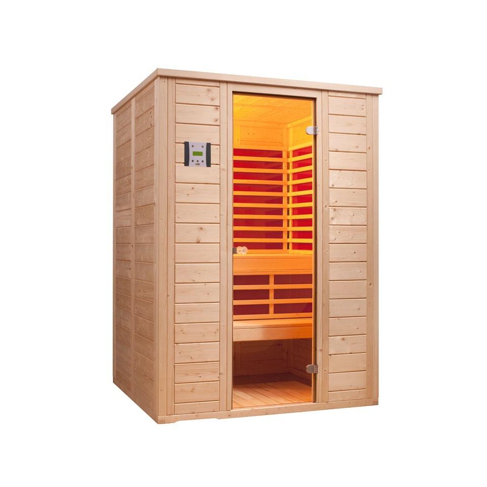 infraworld sauna vitalis 148 fh 40 mm. Black Bedroom Furniture Sets. Home Design Ideas