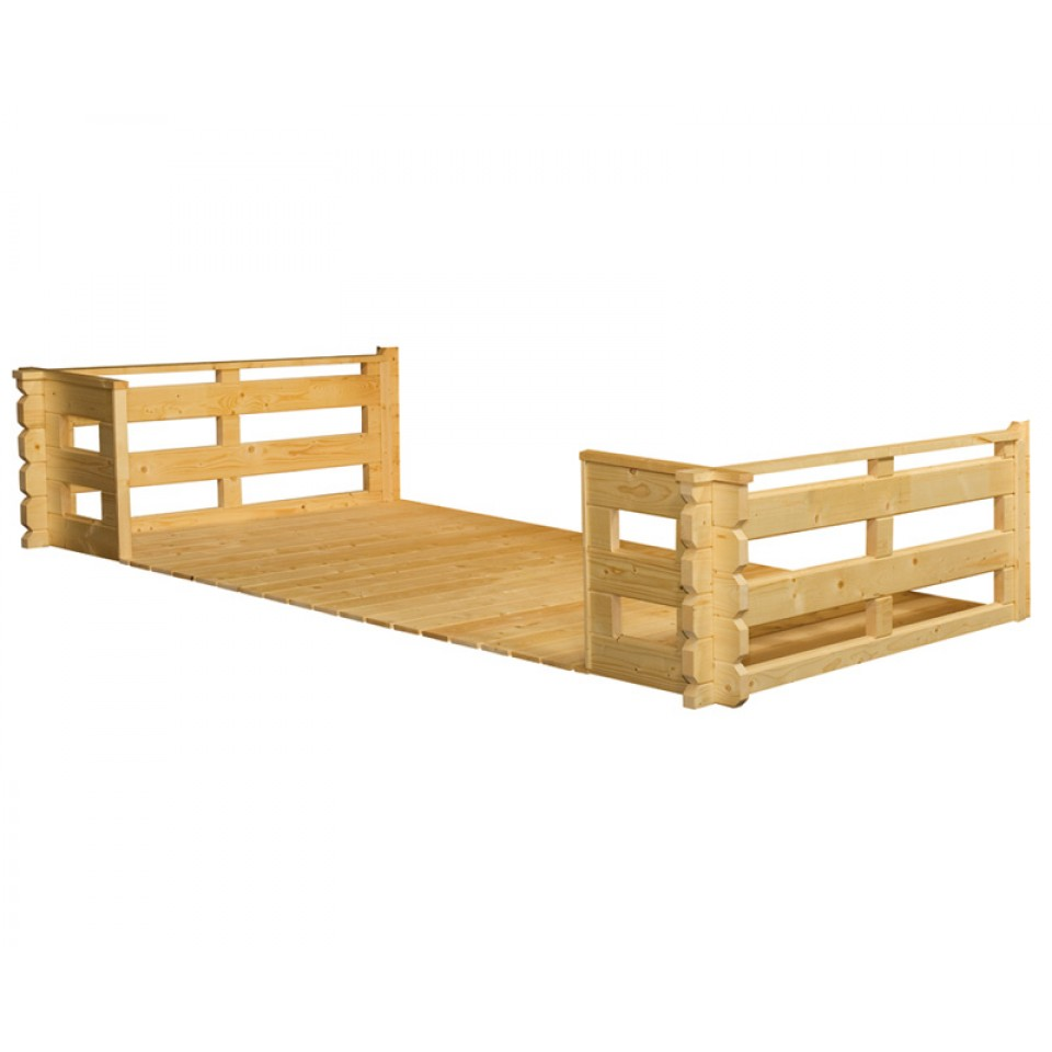 skan holz terrasse f r 45 mm gartenh user skanholz. Black Bedroom Furniture Sets. Home Design Ideas