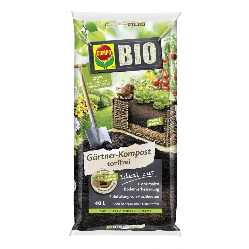 compo bio g rtner kompost 40 l mein. Black Bedroom Furniture Sets. Home Design Ideas