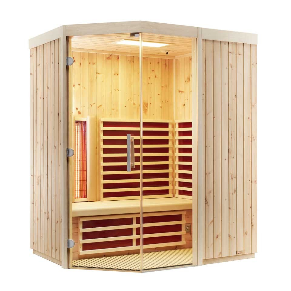 infraworld infrarotkabine triosol unica 2 mein. Black Bedroom Furniture Sets. Home Design Ideas