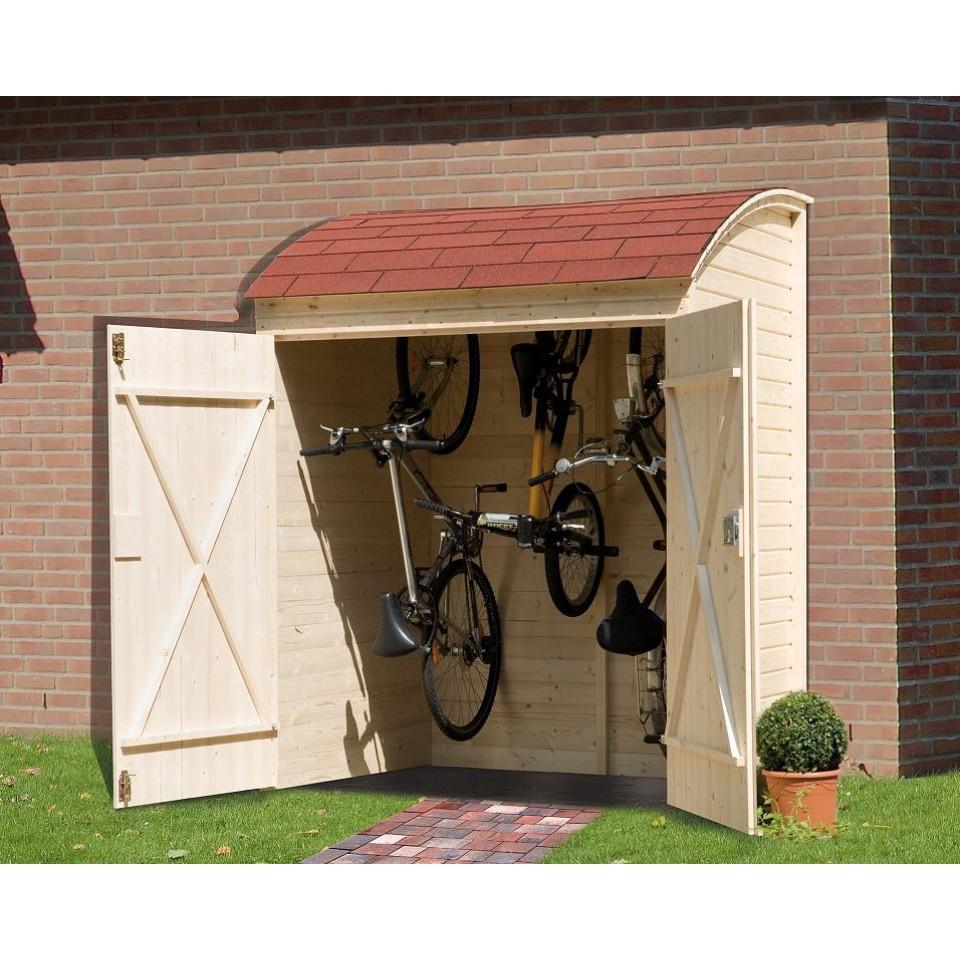 weka ger tehaus fahrradgarage und mehrzweckbox mein. Black Bedroom Furniture Sets. Home Design Ideas